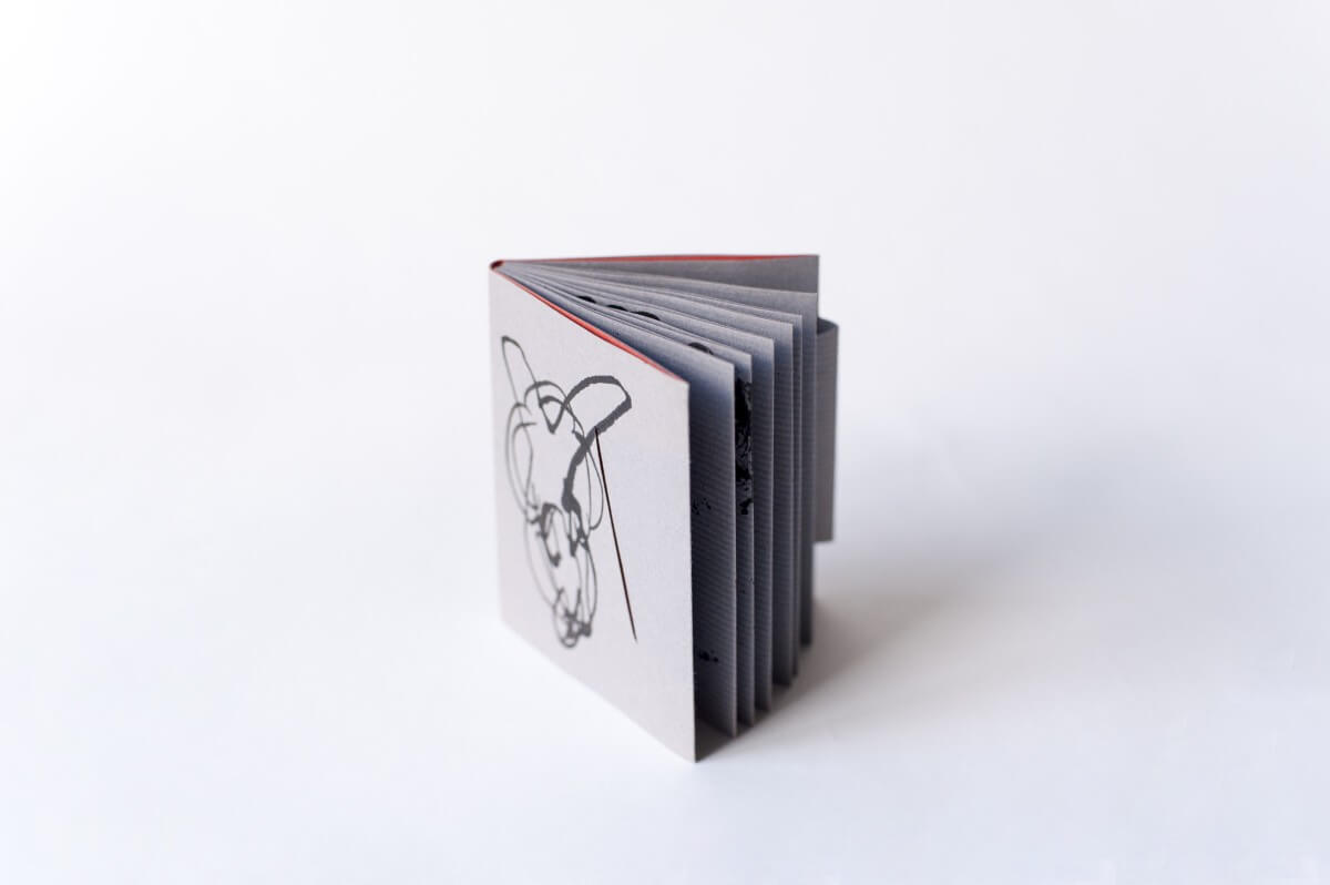 都筑晶絵さんの製本ワークショップ『蛇腹折りの製本』